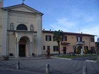 Cervignano d'Adda la chiesa e canonica.
