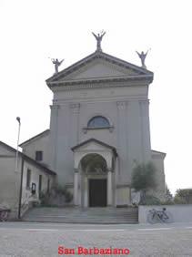 Chiesina di san Barbaziano (Tribiano).