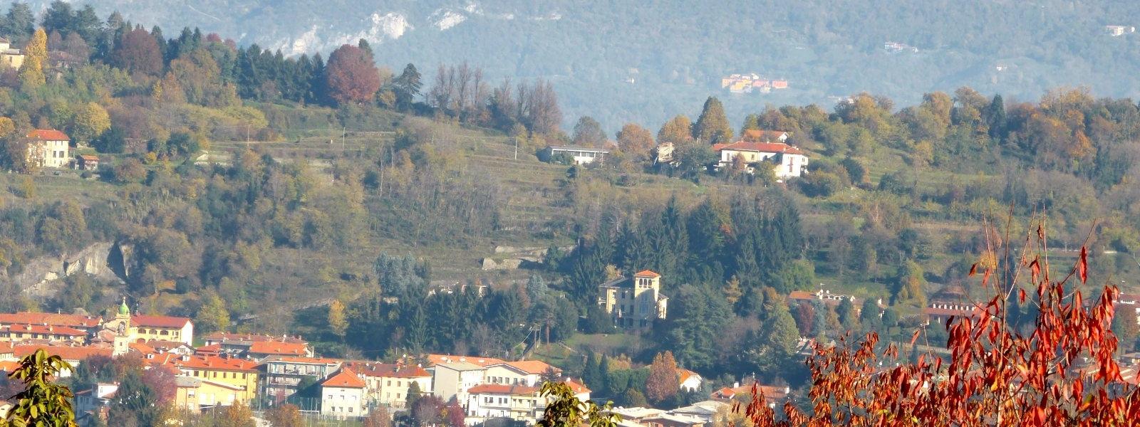 il panorama da Barzago (Lc)