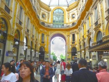 Milano: Galleria Vittorio Emanuele
