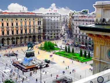 Milano: p.zza Duomo