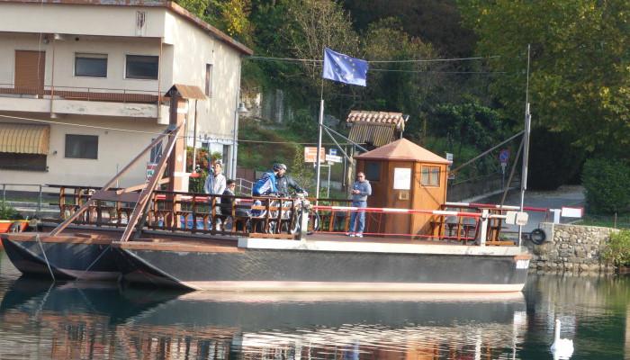 Imbersago (Lc) > traghetto (leonardesco) sull'Adda