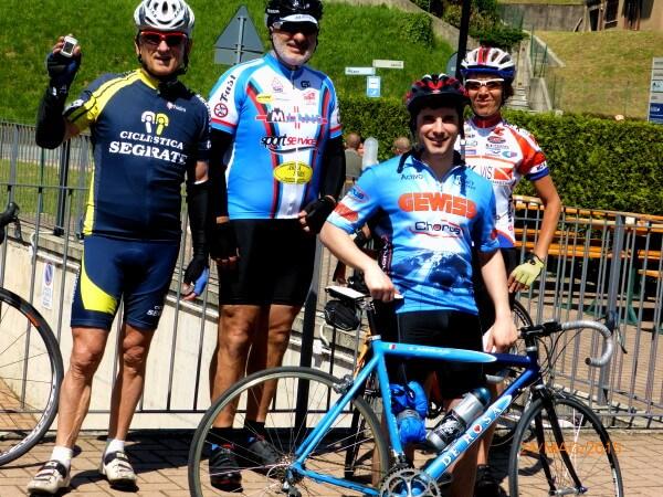 24 Maggio 2015: Angelo, Daniele, Monica e Davide a Nava (Colle Brianza)(Lc)