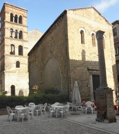 Chiesa di s.Silvestro con campanile