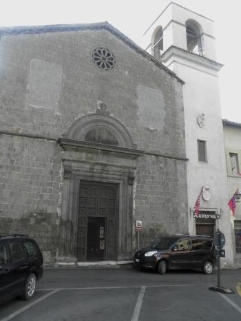 facciata della chiesa di sant'Agostino