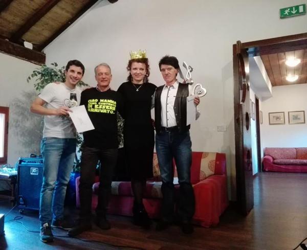 Davide, Tonino, Irina e Armando