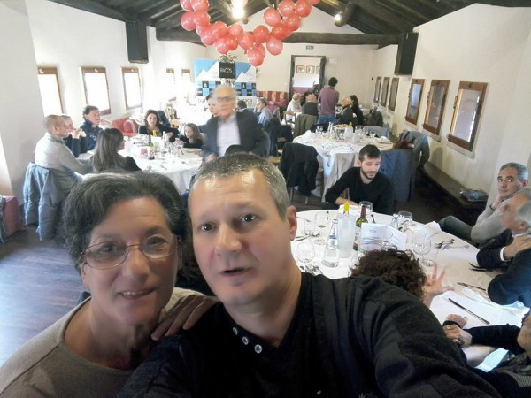 selfi sulla sala pranzo
