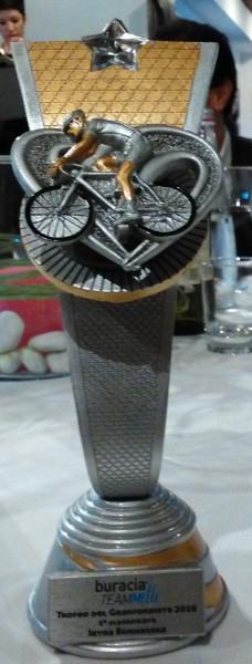 trofeo per la prima classificata