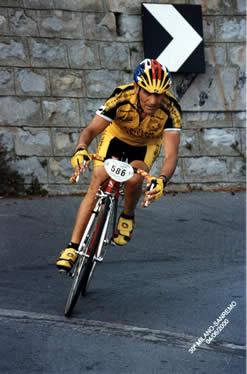 Aldo alla Sanremo 2000
