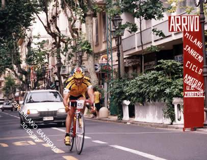 Aldo alla Sanremo 1999